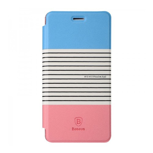 Baseus Case Eden Leather for Xiaomi Mi 4 - Blue/Pink