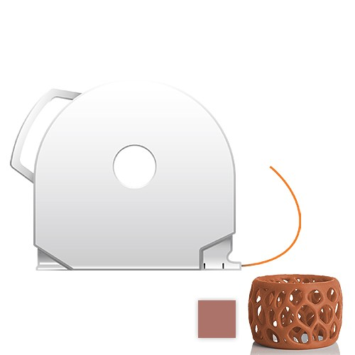CubePro Cartridge PLA - Bronze
