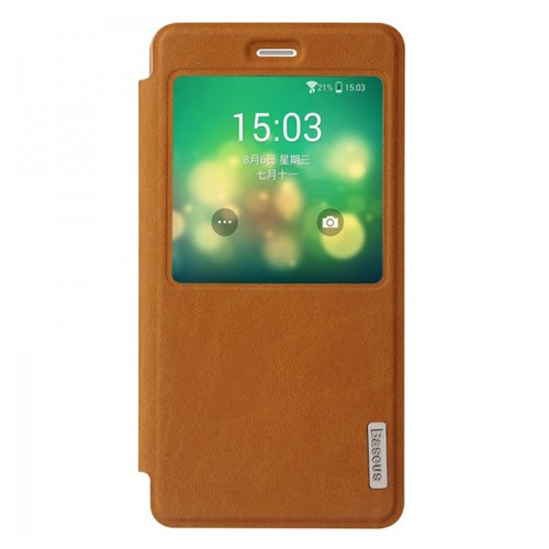 Baseus Case Terse Leather for Xiaomi Mi 4 - Brown