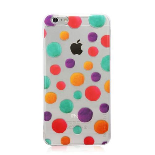 Monocozzi Hard Case Pattern Lab Shell Transparent for iPhone 6 Plus - Luxuriant Bubbles