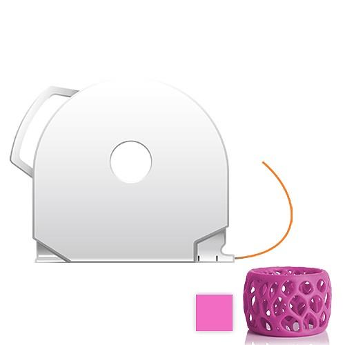 CubePro Cartridge PLA - Magenta