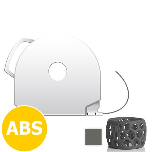 CubePro Cartridge ABS - Dark Grey