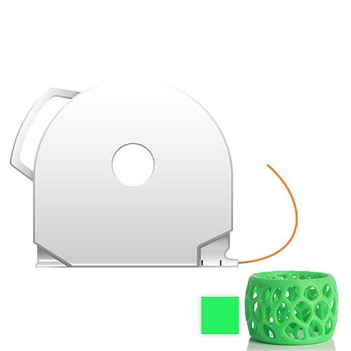 CubePro Cartridge PLA - Glowing Green