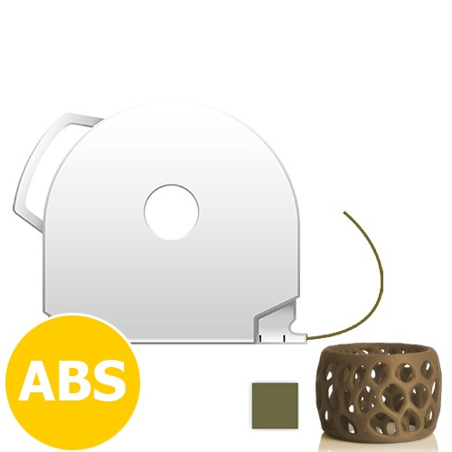 CubePro Cartridge ABS - Gold