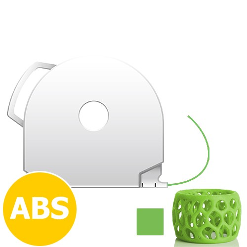 CubePro Cartridge ABS - Green