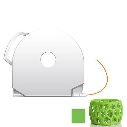 CubePro Cartridge PLA - Green