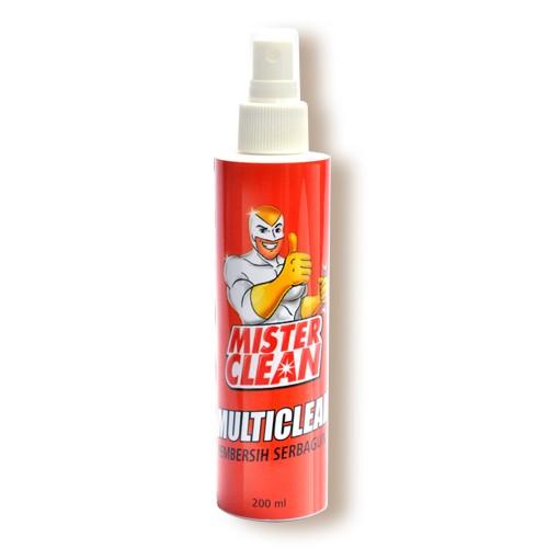 Cairan Pembersih Serbaguna Mister Clean Multi Clean - 200 ml
