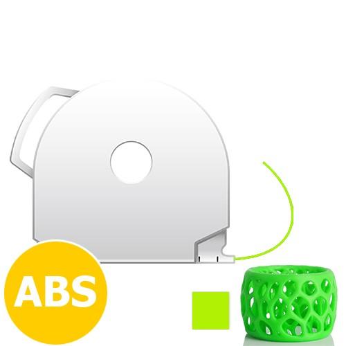 CubePro Cartridge ABS - Neon Green