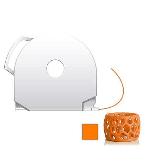 CubePro Cartridge PLA - Neon Orange