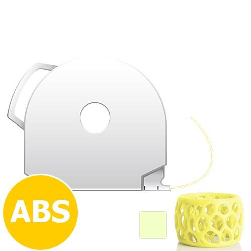CubePro Cartridge ABS - Pale Yellow