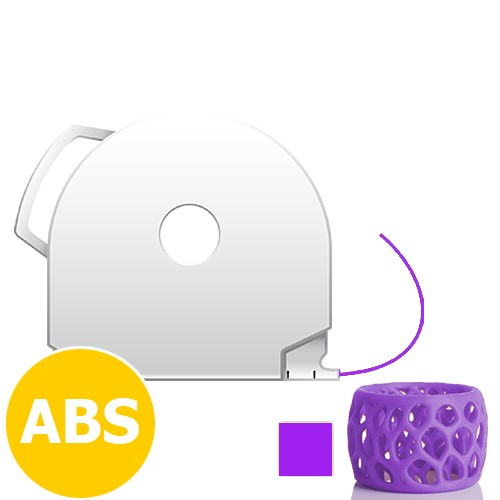 CubePro Cartridge ABS - Purple