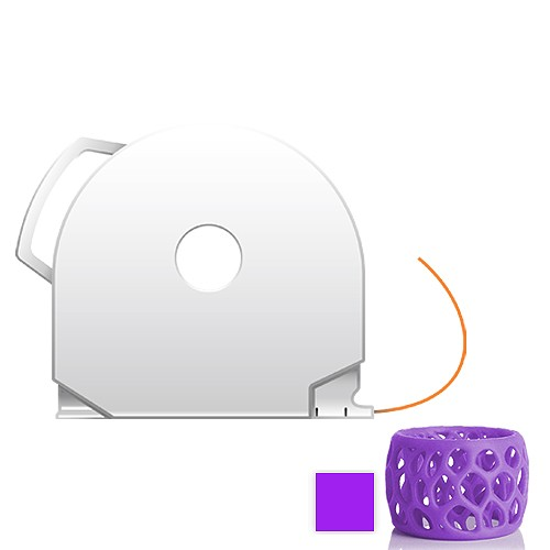 CubePro Cartridge PLA - Purple