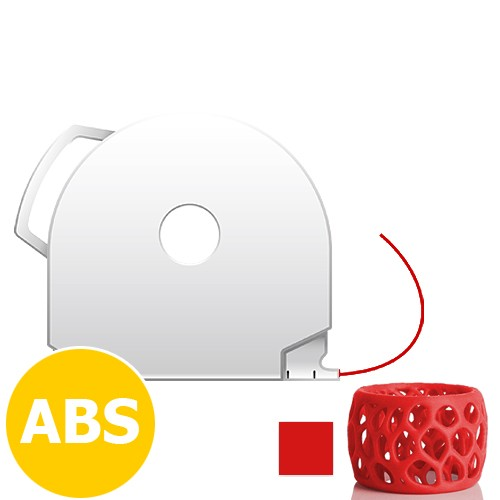 CubePro Cartridge ABS - Red