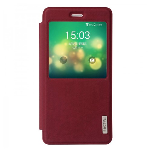 Baseus Case Terse Leather for Xiaomi Mi 4 - Red