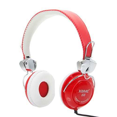 KOMC Over-Ear Headphone S5 - Red