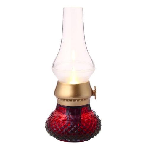 Lampu Minyak Elektrik Haptime Blow - Red