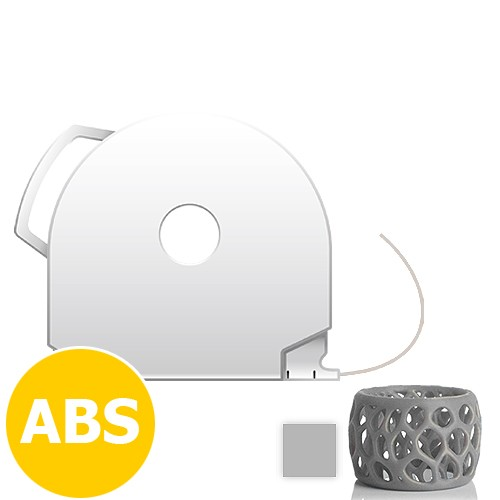 CubePro Cartridge ABS - Silver
