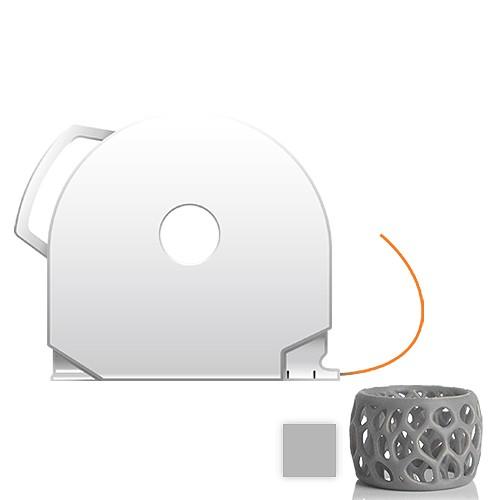 CubePro Cartridge PLA - Silver