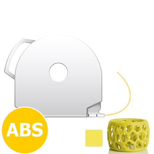 CubePro Cartridge ABS - Yellow