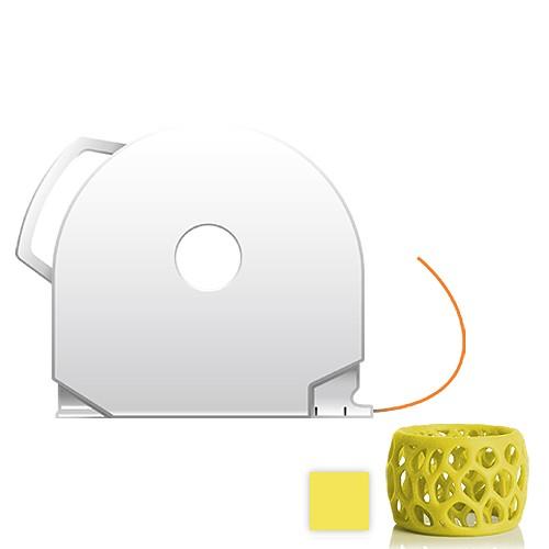 CubePro Cartridge PLA - Yellow