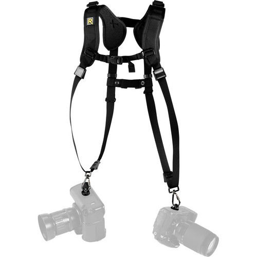 Black Rapid Double Slim Strap DR-2 (RSD-2BB)