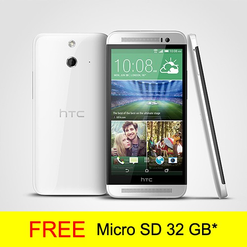HTC One E8 Dual SIM Pearl White
