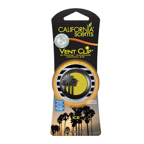 California Scents Pengharum Mobil Vent Clips - Ice
