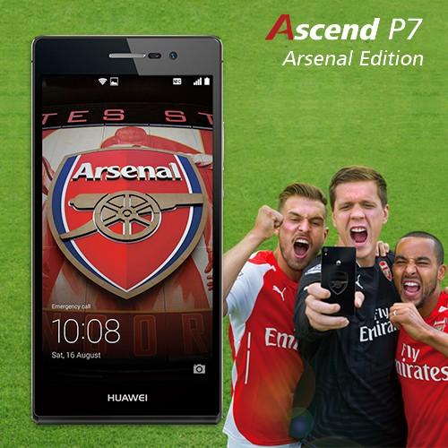 Huawei Ascend P7 Arsenal Edition - Black