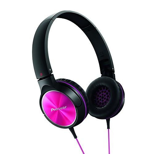 Pioneer On-ear Headphone SE MJ522 P - Pink