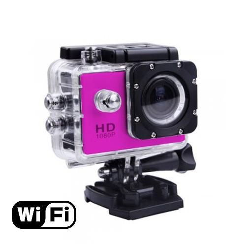 Bella Vision Kamera Digital Sport BV-W8 (WiFi Edition) - Pink