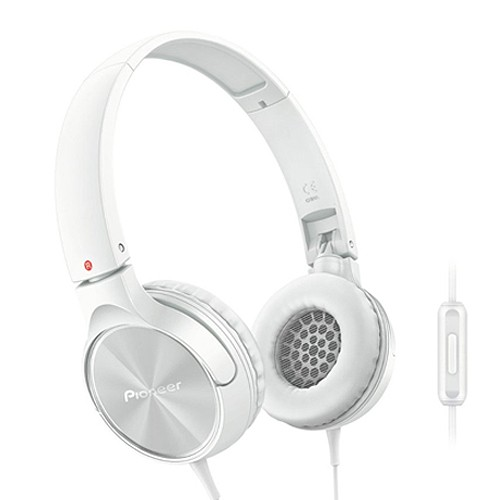 Pioneer On-ear Headphone SE MJ522 TW - White