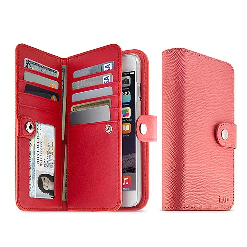 iLuv Case jStyle Runway for iPhone 6 - Pink