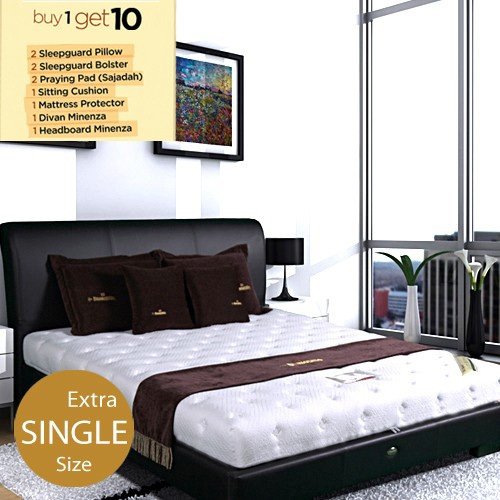 Dunlopillo Premiere Mattress - 120 x 200 (Extra Single Size) | BUY 1 Get 10 FREE*