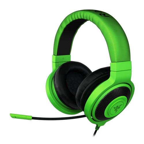 Razer Headset Gaming & Music Kraken Pro (Gaming On The Go ) - Green