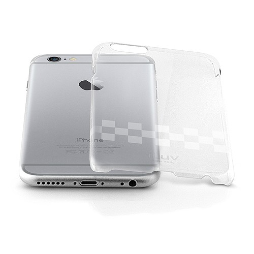 iLuv Gossamer Case with UV Coating for iPhone 6 - Clear