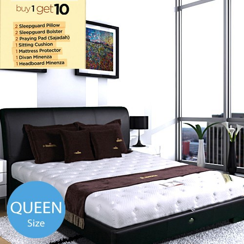 Dunlopillo Premiere Mattress - 160 x 200 (Queen Size) | BUY 1 Get 10 FREE*