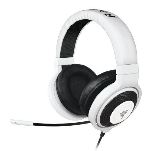 Razer Headset Gaming & Music Kraken Pro (Gaming On The Go ) - White