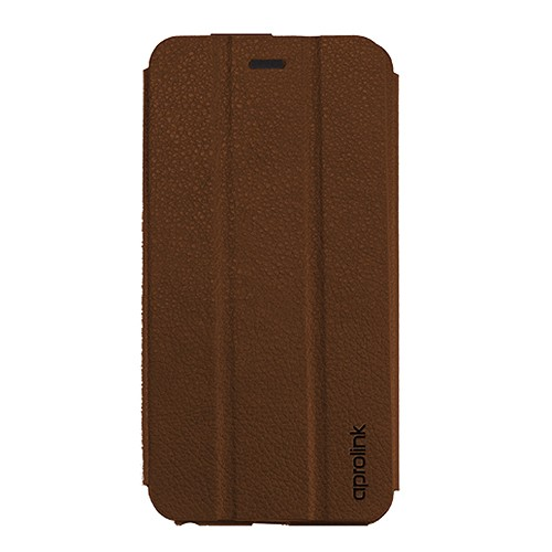 Aprolink Ultimate Thin Magnet Folio for iPhone 6 Plus - Brown