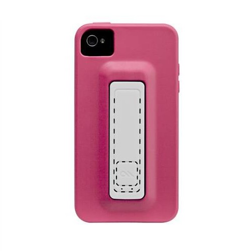 Case-Mate Case Snap for iPhone 4/4S - Lipstick Pink/White