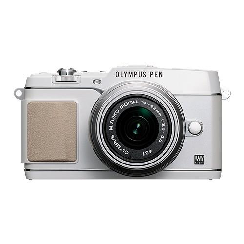Olympus PEN E-P5 Mirrorless Digital Camera 1442-2RK (G) - White Silver
