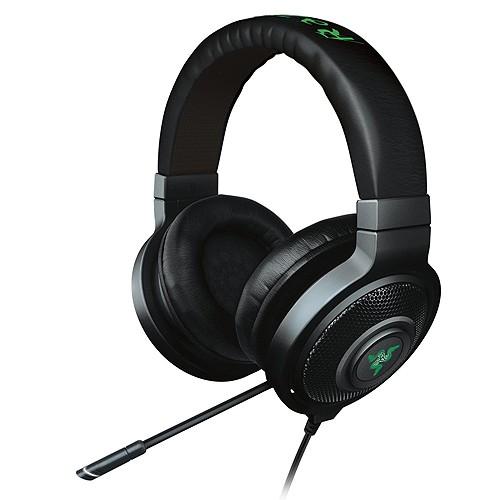Razer On-Ear Headphone Kraken 7.1 Chroma - Black