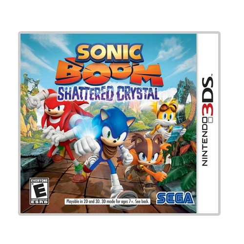 Sonic Boom : Shattered Crystal for Nnintendo 3DS