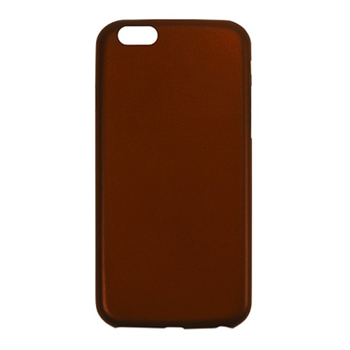 Aprolink Ultimate-Thin Leather Back Cover for iPhone 6 Plus - Brown