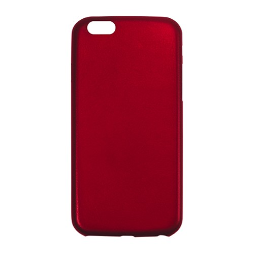 Aprolink Ultimate-Thin Leather Back Cover for iPhone 6 Plus - Red