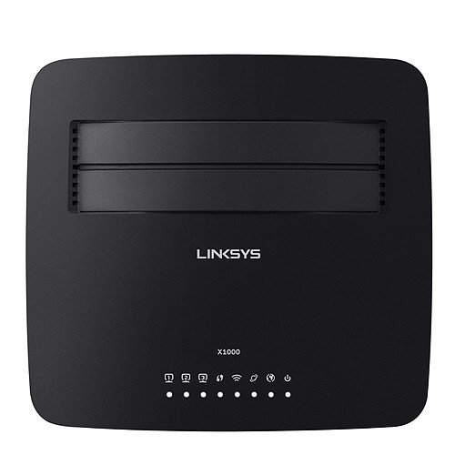 Linksys X1000-AP N300 Wireless Router with ADSL2  Modem