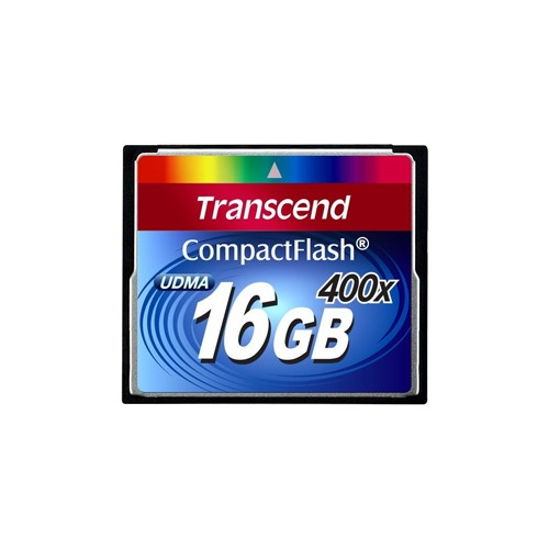 Transcend Ultimate Ultra Compact Flash Card 400X - 16GB