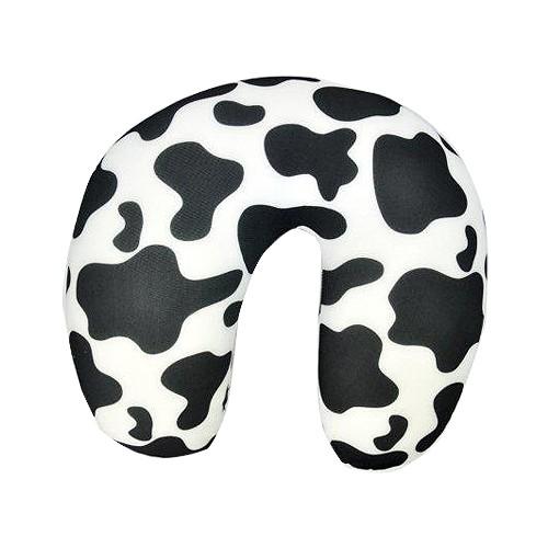 Basic Neck Cushion Etnik - Motif Black White