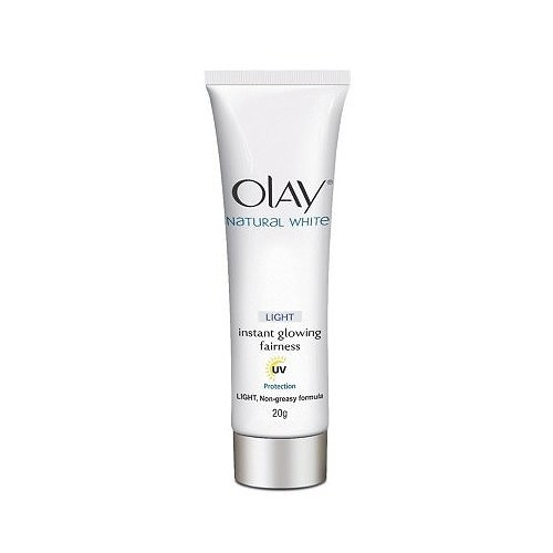 Olay Natural White Instant Glowing Fairness - 20 gr