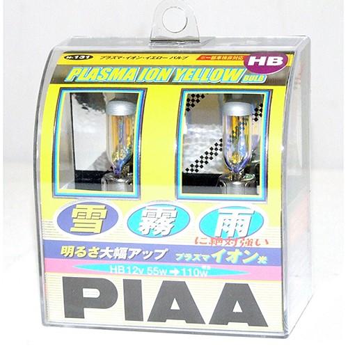 PIAA Lampu Mobil HB3/HB4 55W - H-131E Plasma Ion Yellow