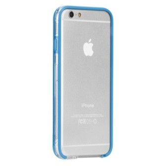 Case-Mate for iPhone 6 Tough Frame Clear Blue